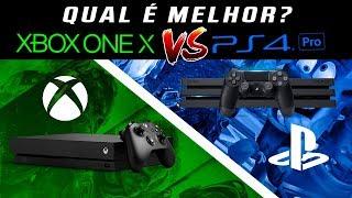 🌎Qual é melhor XBOX ONE X ou PS4 PRO?