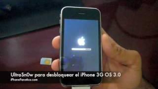 Tutorial UltraSn0w Desbloqueando Un IPhone 3G Con El OS