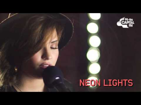 Neon Lights - Demi Lovato (Acoustic Live Session at Capital FM) || AUDIO.