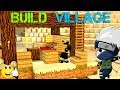 LIVE Minecraft PS4 build village Road to 500