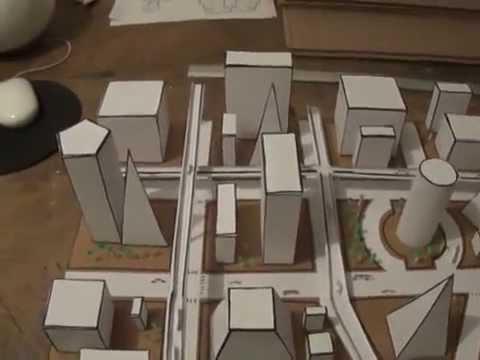 Ciudad Geométrica Maqueta
