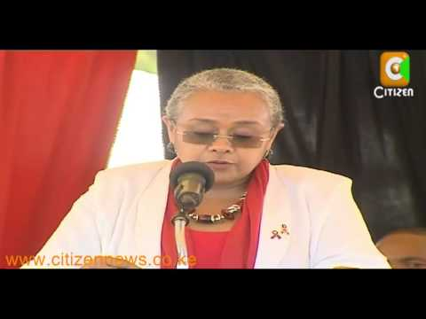 First Lady Calls For Concerted Efforts To Combat AIDS