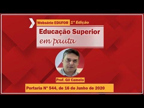 Portaria Nº 544, de 16 de Junho de 2020 - Websérie EDUFOR - 1º edição
