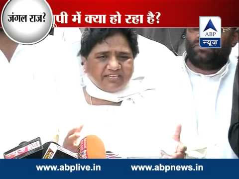 Mayawati slams SP govt, again demands imposition of Prez rule