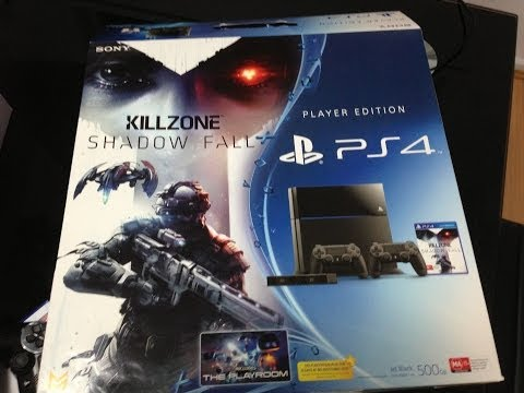 Playstation 4  Unboxing Player Edition- Killzone Shadow Fall.Australia Part-1