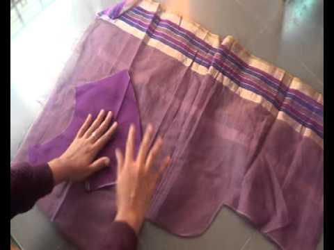 How To Cut Blouse In Cross Cutting In Telugu 28