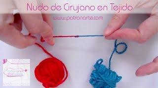 Cómo hacer un nudo para unir lanas