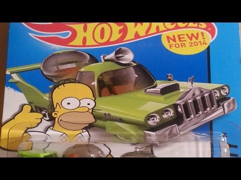 2014 Hot Wheels A CASE!!! unboxing video feat. Datsun 620 & THE JETSON