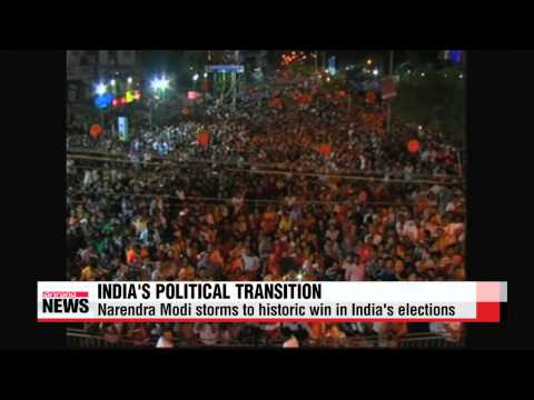 Narendra Modi storms to historic win in India's elections