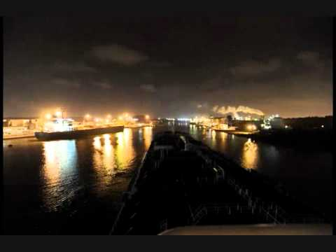 Houston Ship Channel Night Run
