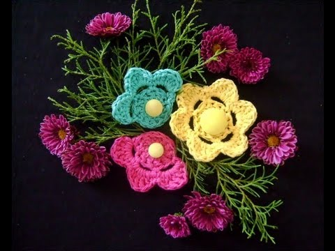 CROCHE AULA FLOR MODELO 054