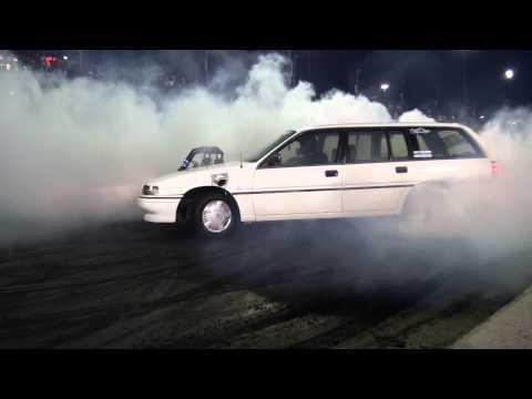Burnout Masters 2012 - Skids 4 Kids - Turbo V6 Wagon