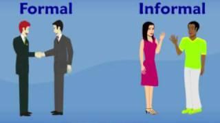 Image result for formal vs informal