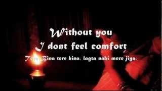 Tere Bina Lagta Nahi Mera Jiya : Lyrics In English( Wajid )