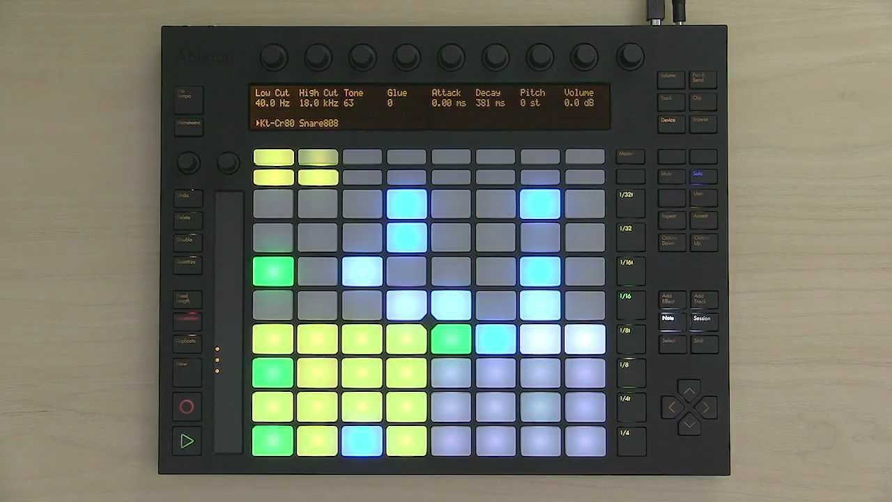 Using Push 2 — Ableton Reference Manual Version 10 | Ableton