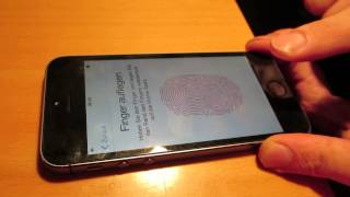 iPhone 5S touchID Hacked