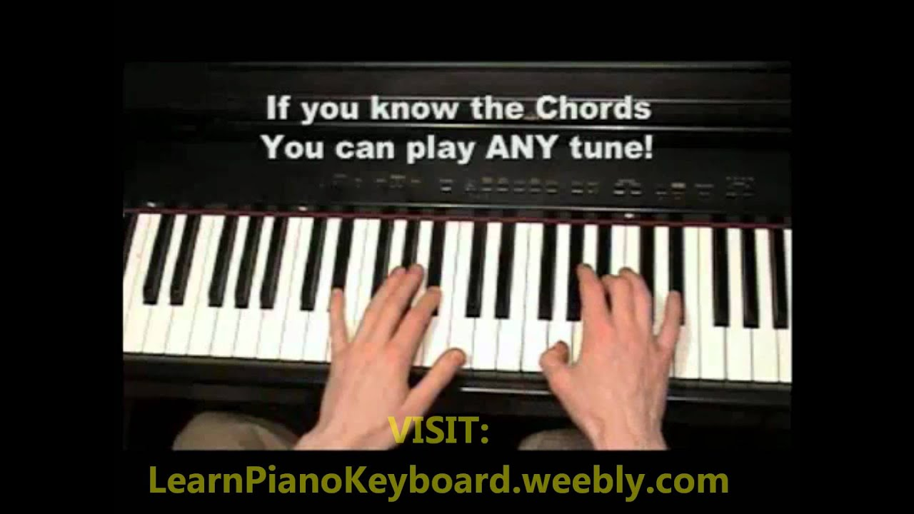 Learn to play keyboard youtube lessons