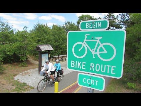 Biking the Cape Cod Rail Trail