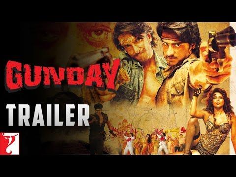GUNDAY - Trailer - Ranveer Singh | Arjun Kapoor | Priyanka Chopra | Irrfan Khan