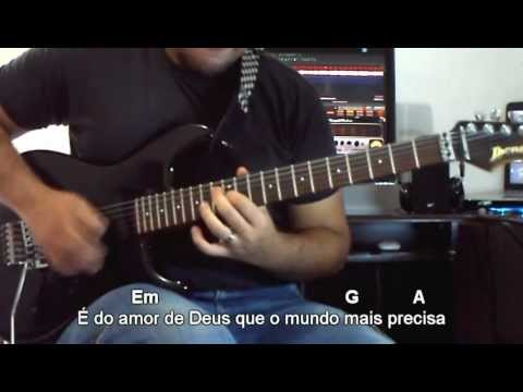 Teus Pra Sempre - Aline Barros - Video Aula Guitarra