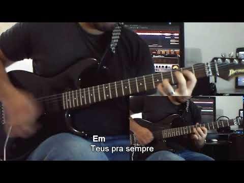 Teus Pra Sempre - Aline Barros - Video Aula Guitarra
