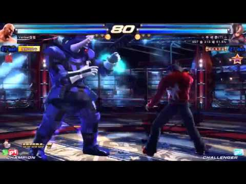 Tekken Tag 2 Unlimited Knee (Lars/Hwoarang) vs Verbal (Marduk/Jack)