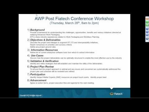 Advanced, Fully Integrated WorkFace Planning & Control Project Kickoff