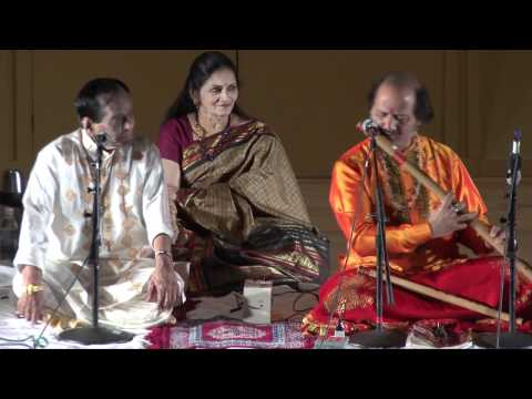Vedic Cultural Center - JUGALBANDI Mangalampalli Balamurali Krishna &amp; Ronu Majumdar - Part I