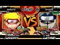 Naruto Ultimate Ninja 4 Shippuden Hd Naruto Fox Vs Cs2 Sasuke