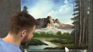Paint With Kevin Hill Mountain Hideaway
