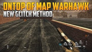 CoD Ghosts Glitches: Ontop Of Warhawk Building (Amazing