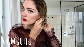 Easy Black-Tie Beauty With Sofía Sanchez de Betak   Vogue