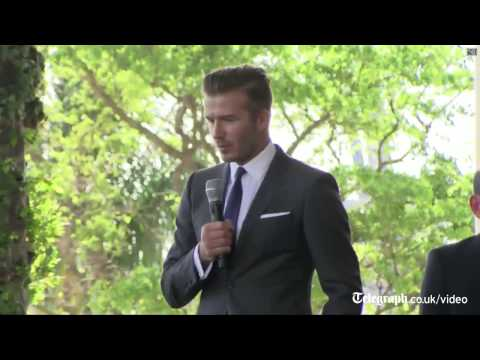 David Beckham launches new Miami MLS franchise