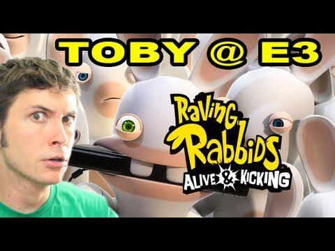 Raving Rabbids Kinect - Toby @ E3 2011