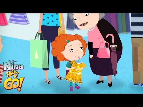 Mall - Nina Needs to Go - Disney Junior Official
