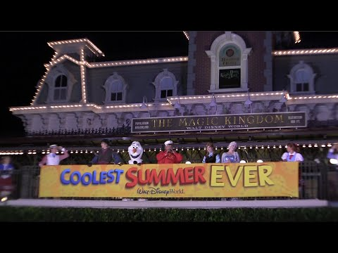"""Frozen's Anna, Elsa, Kristoff and Olaf kick off the """"Coolest Summer Ever"""" 24-hour event"""