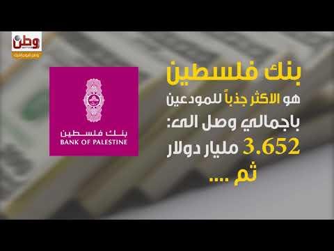 كم يودع الفلسطينيون في البنوك ؟