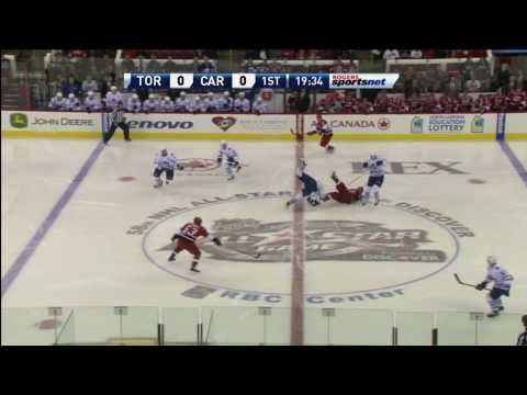 Dion Phaneuf Destroys Tuomo Ruutu - Jan 24th 2011 (HD)