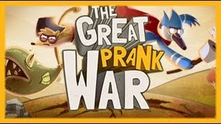 Regular Show The Great Prank War Regular Show Games