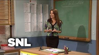 Gilly in Sex Ed - Saturday Night Live