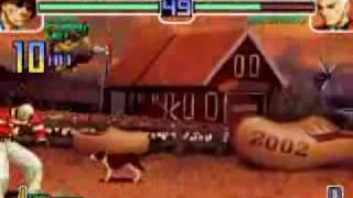 The King Of Fighters 2002 Plus Combos