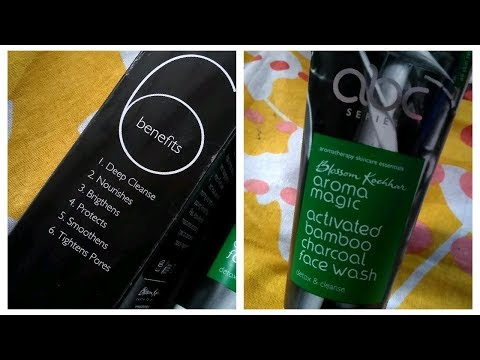 Blossom kochaar Bamboo charcol face wash Review