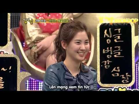 Strong Heart Show Ep18 VietSub   Part 4   SNSD