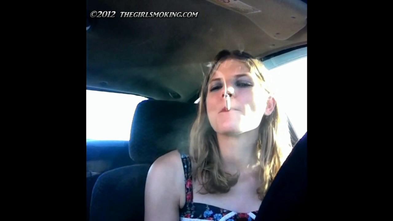girl power speed smoking marlboro red 100s front view