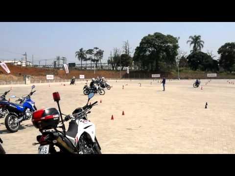 Treinamento da ROCAM - Yamaha XT660