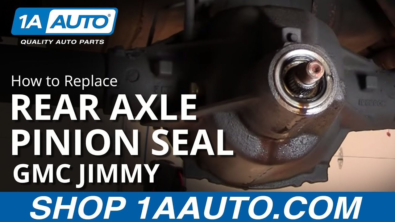 Toyota Rear Axle Seal Replacement