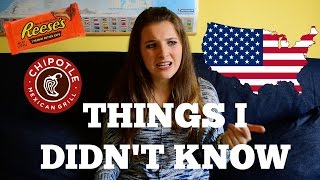 Things I didn't know about America!! || Sara Guggi