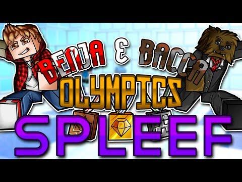 Minecraft: Benja & Bacca Olympics Game 7 - Spleef