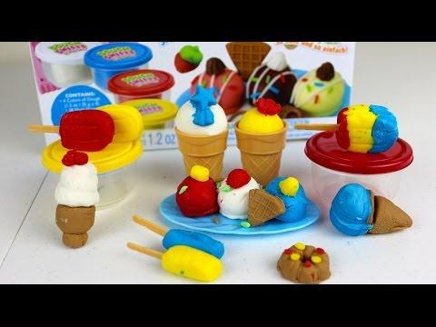 Postres y Golosinas de Plastilina en Español | Dough Sweets Play Set