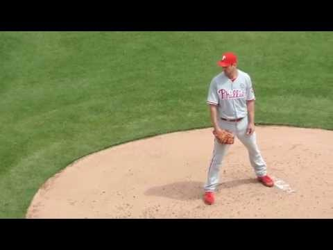 2014 Opening Day Cliff Lee Pitching (Mar.31 vs. Texas Rangers @Globe Life Park in Arlington)